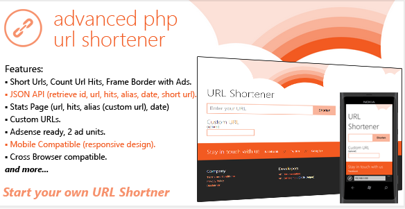 Advanced PHP URL Shortener